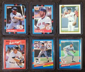 6 Wade Boggs Baseball Cards for Sale in Westland, MI
