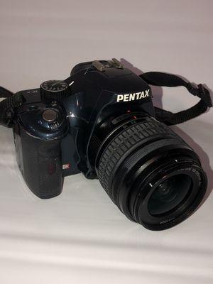 PENTAX K K-x 12.4MP Digital SLR Camera Blue (Kit w/ AL 18-55mm Lens) for Sale in Carol Stream, IL