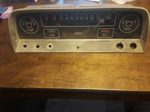 Dash console 1966 Chevy truck for Sale in Pine Bluff, AR