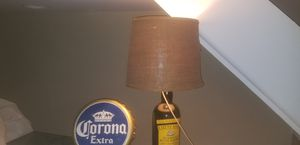 VINTAGE BAR/ LOUNGE LAMP & ELEC BOTTLE CAP SIGNS for Sale in Philadelphia, PA