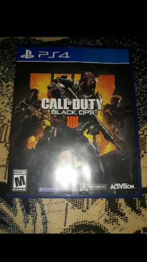 Call of duty black ops4 for Sale in Santa Ana, CA