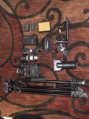 Sony fs100u profesional video cine camera for Sale in West Palm Beach, FL