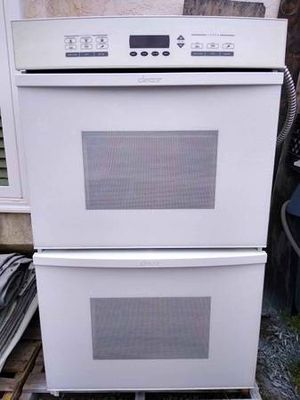"""30"""" DECOR WHITE DOUBLE WALL OVEN ELECTRIC SELF-CLEANING KITCHEN HOME HIGH END QUALITY VIKING WOLF for Sale in La Mesa, CA"""