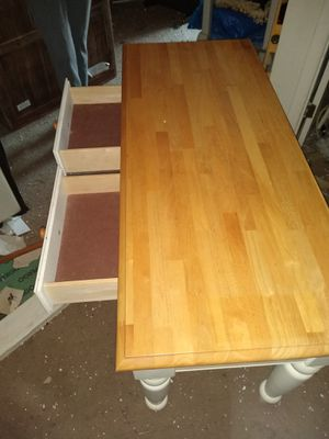 Table with drawers for Sale in Chapel Hill, NC