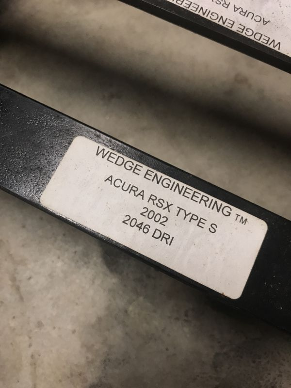 Acure RSX seat rails