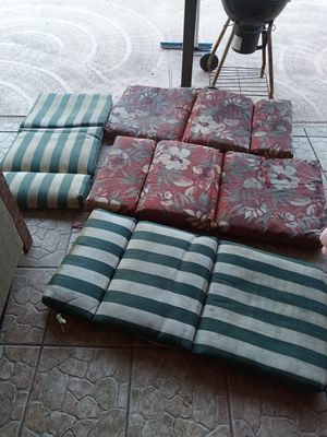 Outdoor chair cushions 4 for Sale in Union Park, FL