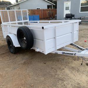 2019 Diamond C 5' X 10' Utility Trailer for Sale in Riverside, CA