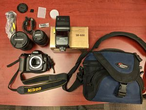 Nikon D50 with accessories for Sale in Kirkland, WA
