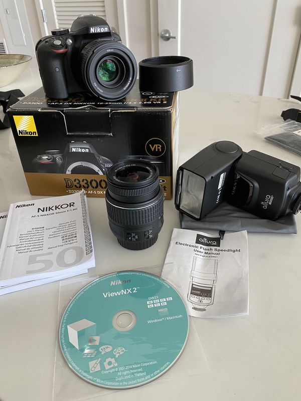 Nikon Camera D3300 1532 18-55mm f/3.5-5.6G
