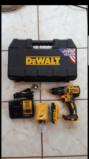 New DeWALT XR Drill Driver Kit 20V - BRUSHLESS for Sale in Placentia, CA