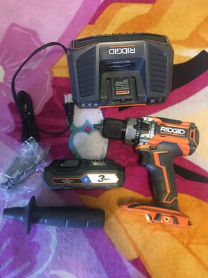 RIDGID 18-Volt Lithium-Ion Cordless Brushless 1/2 in. Compact Hammer Drill Kit for Sale in Phoenix, AZ