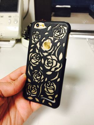 iPhone 6/6s 3D Flower shock defender hard case for Sale in New York, NY