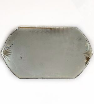 Antique Vintage Vanity Perfume Tray Etched Mirror for Sale in Princeton, NJ