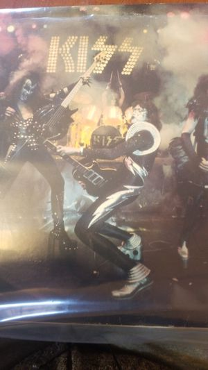 Kiss live vinyl record for Sale in PA, US