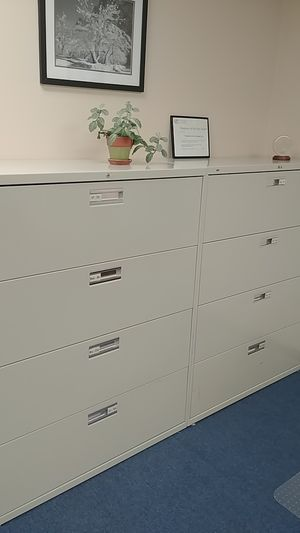4-drawer lateral filing cabinets. for Sale in Rockville, MD