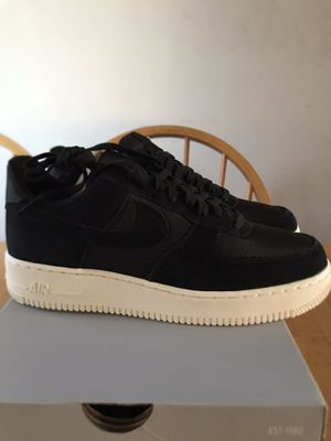 Brand new Nike Air Force One black white shoes men's size 9 or 10 for Sale in Spring Valley, CA