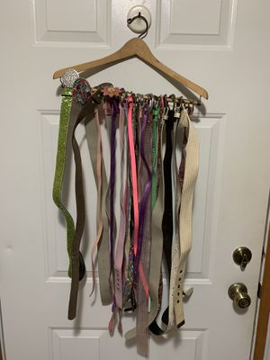 """Assortment of Girl""""s Belts for Sale in Crystal Lake, IL"""