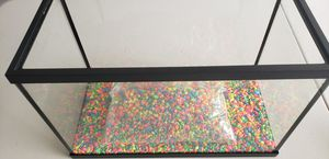 5 Gallon Fish Tank Top Fin with LED and gravel for Sale in Farmington Hills, MI