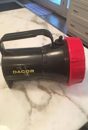 Vintage Dacor dive flashlight for Sale in Naperville, IL