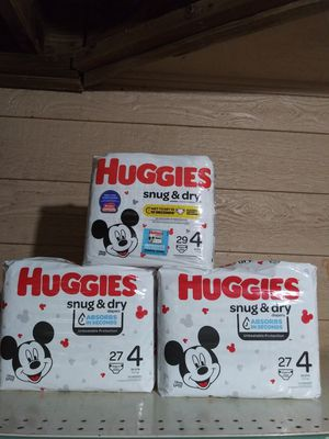 Huggies Diapers Size 4 for Sale in Conyers, GA