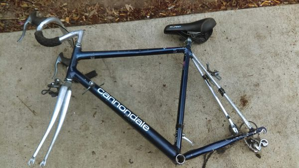 Cannondale Road bike, frame only