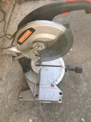 "Craftsman 10"" miter saw for Sale in San Jose, CA"