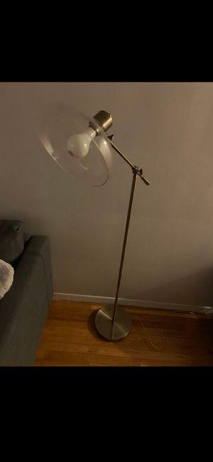 Gold floor lamp for Sale in North Arlington, NJ