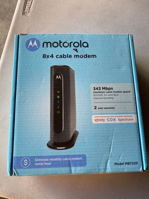 Motorola Modem for Sale in Los Angeles, CA