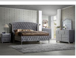 💥New Queen Velvet Bedroom Set💥Financing Available for Sale in Houston, TX