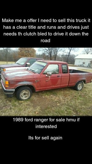 1989 Ford Ranger for Sale in Langley, OK
