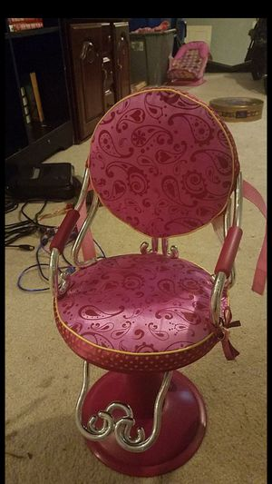 Our Generation salon stylist chair 14 in doll chair for Sale in Columbus, MS
