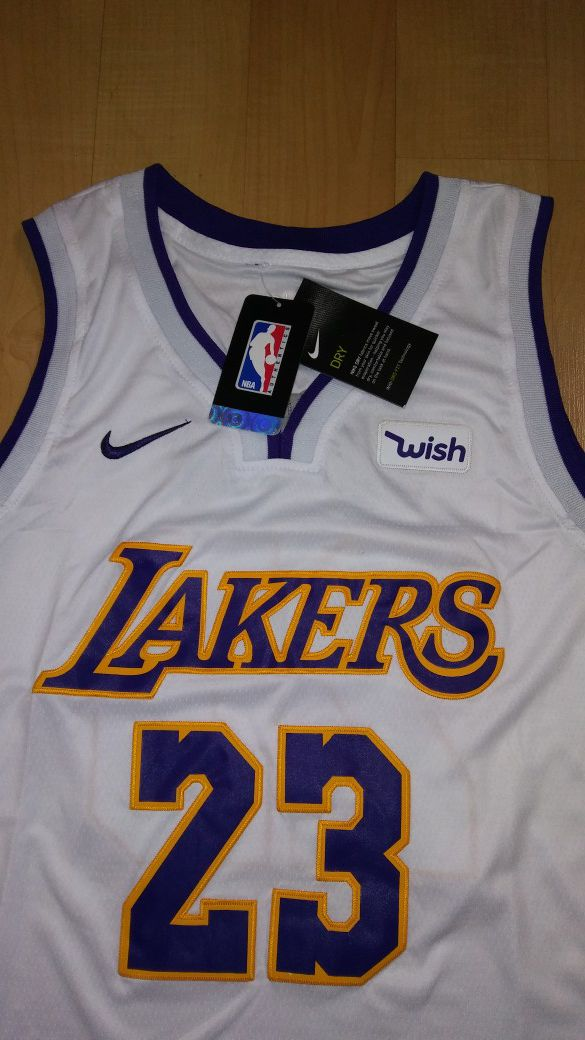 the latest 3225e 2cde5 LEBRON JAMES LAKERS WHITE JERSEY for Sale in Melrose Park, IL - OfferUp