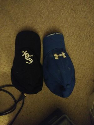 Blue Under Aurmor hat for $13. Black White Sox hat for 13. Both for $20 for Sale in Chicago Heights, IL