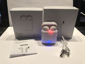 Brand new i8x wireless headphones earbuds Bluetooth audifonos for Sale in Denver, CO
