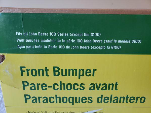 John Deere Riding Mower Bumper Brand New!!