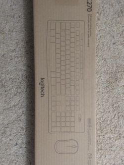 Logitech Wireless Keyboard + Mouse for Sale in Gaithersburg,  MD