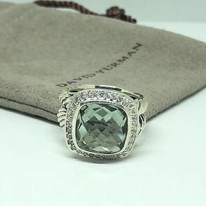 David Yurman 11mm Prasiolite Albion Ring for Sale in Queens, NY