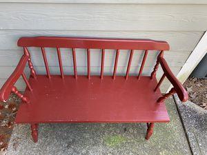 Red bench for Sale in Birmingham, AL