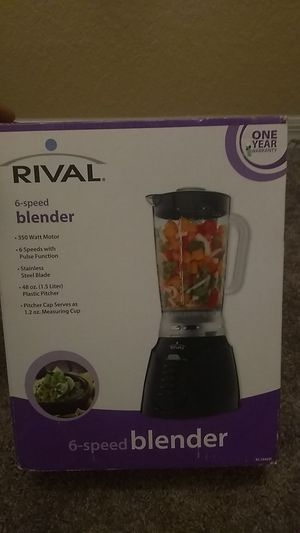 Rival 6speed blender for Sale in New Port Richey, FL