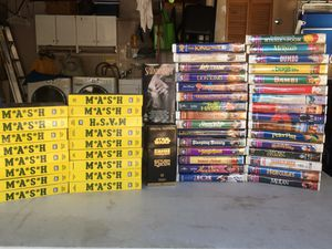WaltDisney Special Edition VHS Collectors , MASH Collection VHS, Originals DVDs and CDs for Sale in Riverview, FL