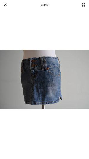 Blue Denim Mini Skirt - D'Nim for Sale in Fairfax, VA