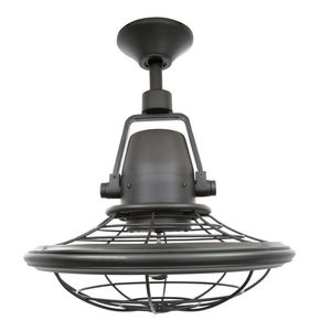 Home Decorators Collection -Bentley II 18 in. Indoor/Outdoor Natural Iron Oscillating Ceiling Fan with Wall Control for Sale in Dallas, TX