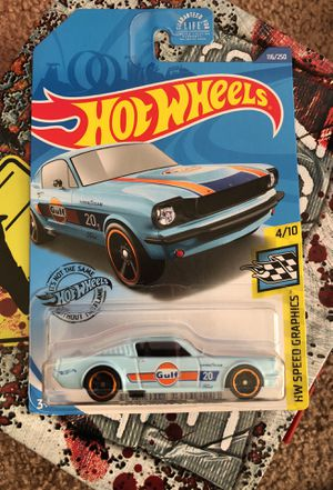 Hot wheels 65 mustang 2+2 fastback Gulf for Sale in Manteca, CA