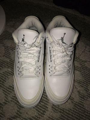 Jordan 3 Pure Money Size 12 for Sale in Clovis, CA