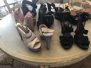 8 pairs of Designer Shoes Stuart Weizmann , Michael Kors for Sale in West Palm Beach, FL