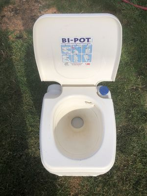 Portable/Camping toilet for Sale in Tacoma, WA