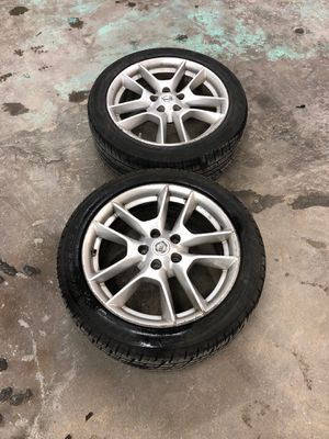 245-45/A18 95 v rims and maximum Nissan wheels Nissan Maxima for Sale in Silver Spring, MD