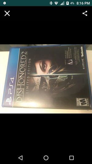 Dishonored 2: Limited Edition for Sale in Fontana, CA