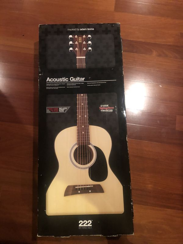 Brand new First Act Acoustic Guitar