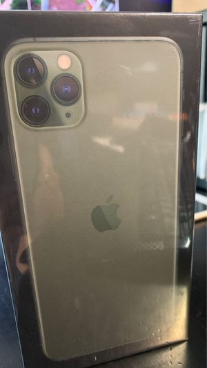 iPhone 11 Pro Max 256. New sealed. Midnight green for Sale in San Jose, CA